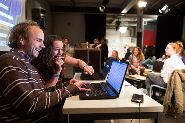 Am Samstag, 5. Mai 2017 geht der Wiki-Battle von science+fiction in die zweite Runde. Foto: Raphael Hünerfauth