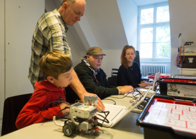 Workshop 'Lego-Robotics' | © Raphael Hünerfauth