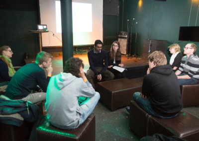 Workshop 'Autonome Waffensysteme' © Raphael Hünerfauth