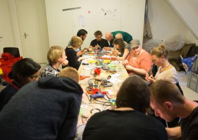 Workshop 'SchluffiPuffi' | © Raphael Hünerfauth