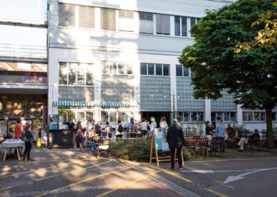 SCHWEIZ - BASEL - Eröffnungsabend des Festivals science+fiction 'Building Bodies' 2021 im Humbug - 01. September 2021 © Raphael Hünerfauth - https://www.huenerfauth.ch